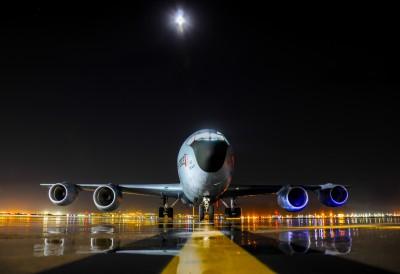 Samolot Boeing KC 135r Stratotanker