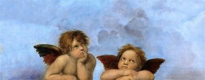 Aniołki w chmurach