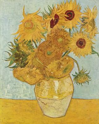 Słoneczniki van Gogha