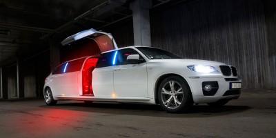 Ekskluzywna limuzyna marki BMW