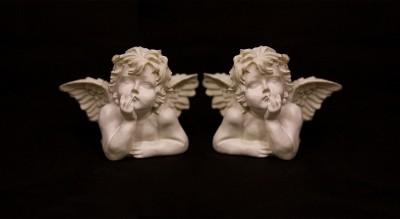 Bliźniacze aniołki
