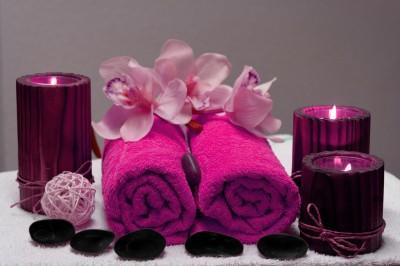 Zwariowane ręczniki w kolorze fuksji