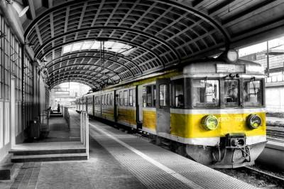 Pociąg elektryczny EN57 - 773r b