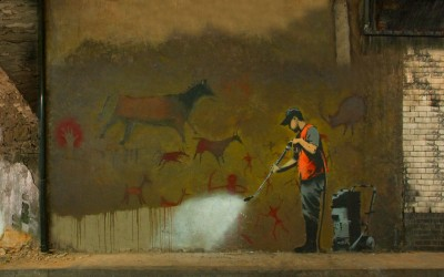 Banksy Usuwanie sztuki