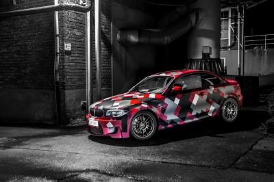 Czerwone BMW