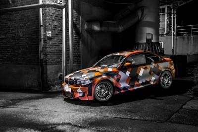 Pomarańczowe BMW