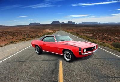 Chevrolet na autostradzie
