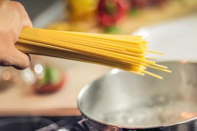 Włoskie spaghetti