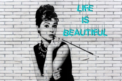 Audrey Hepburn Life is beautiful