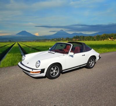 Białe Porsche