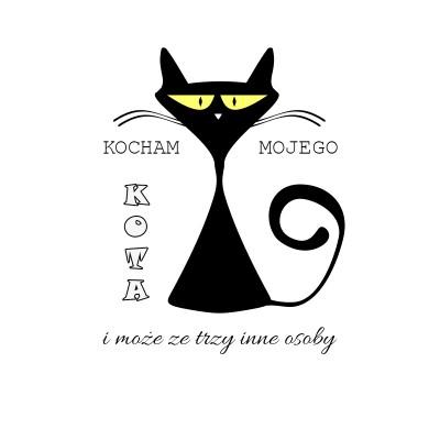 Kocham mojego kota i może ze trzy inne osoby