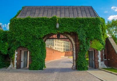 Wawel - brama