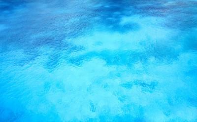Krystalicznie czysta woda