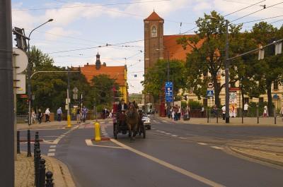Bryczką przez Wrocław