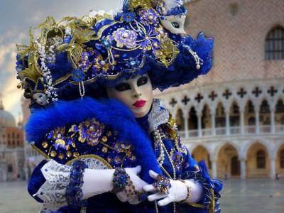 Maska na karnawał w Wenecji