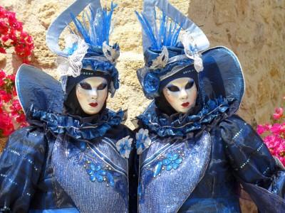 Maski karnawałowe weneckie