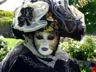 Przebranie karnawałowe z maską