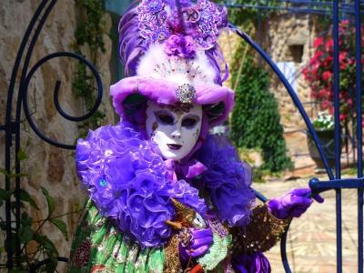 Zabawa karnawałowa w Wenecji