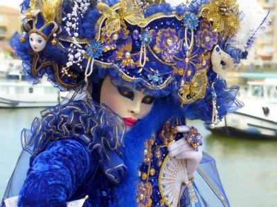 Maska na zabawę karnawałową