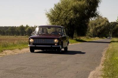 Włoski Fiat 124 Berlina 1967