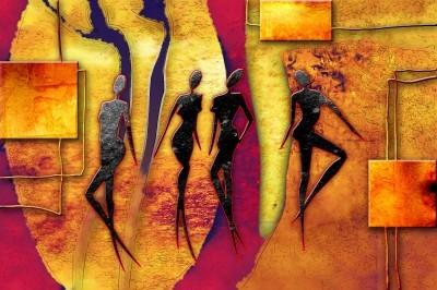 Tańczące Afrykanki