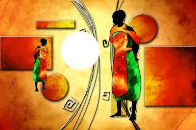 Afrykańscy wojownicy