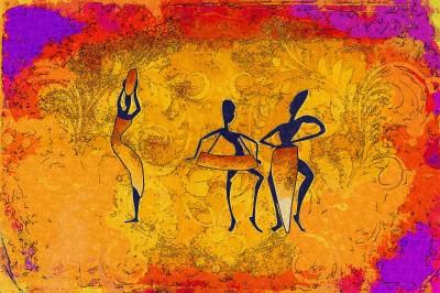 Taniec plemienny
