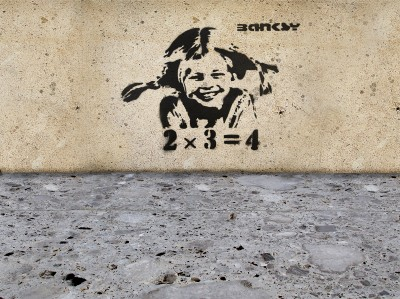 Banksy Pipi