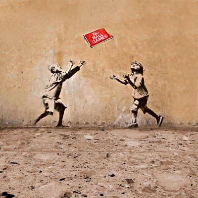 Banksy No ball games