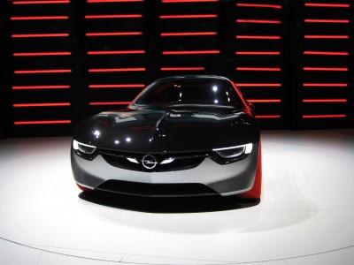 Fast car Opel GT