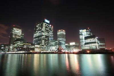 Oświetlony Londyn