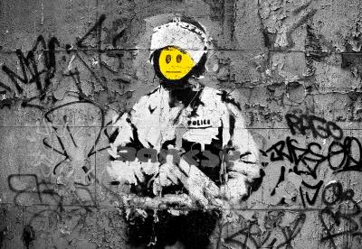 Banksy Buźka