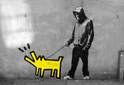 Banksy Piesek