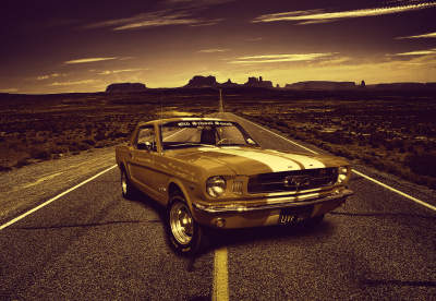 Ford Mustang Old School