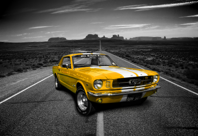 Oldtimer Ford Mustang