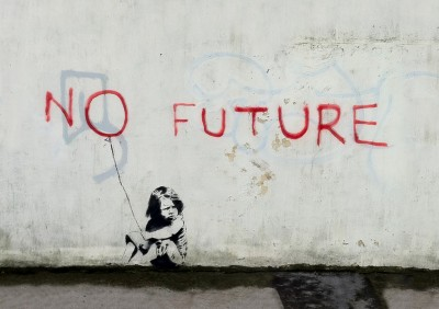 Banksy No Future