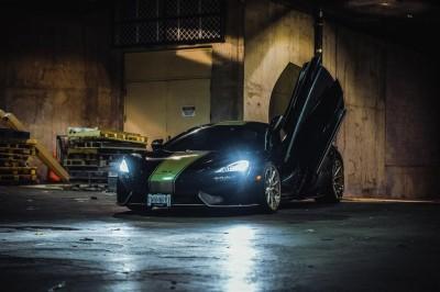 McLaren nocą