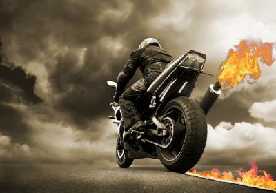Ścigacz z ogniem