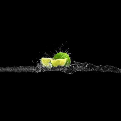 Limonka w czerni