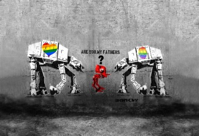 Are you my fathers? Banksy
