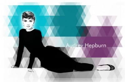 Audrey Hepburn prezentuje swój styl
