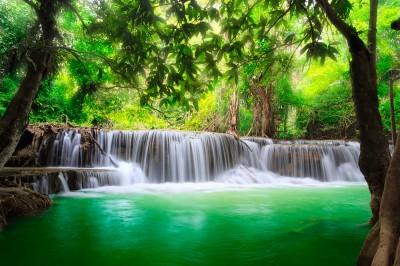 Wodospad w Tajlandii