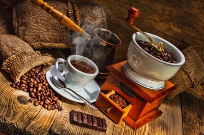 Smakowita kawa z czekoladą