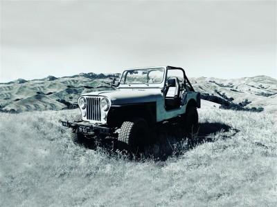 Jeep na wertepach