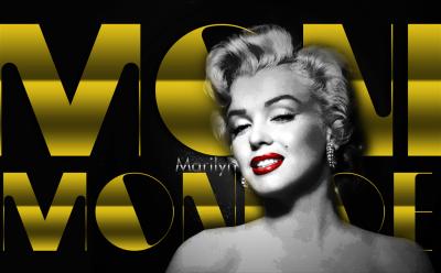 Znana modelka Marilyn Monroe