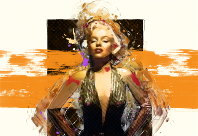 Słynna modelka Marilyn Monroe