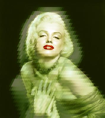 Kusząca Marilyn Monroe