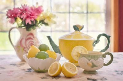 Herbata z filiżanki