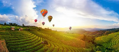Lot balonem nad Tajlandią