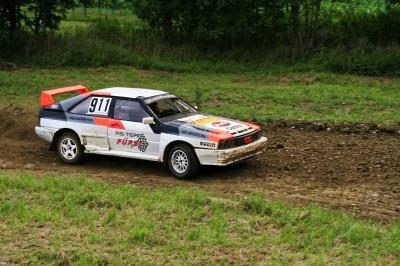 Audi Quattro w terenie